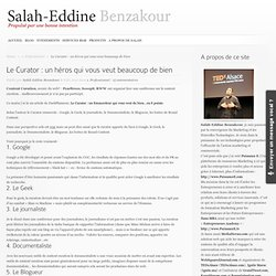 Salah-Eddine Benzakour /// Blog Officiel