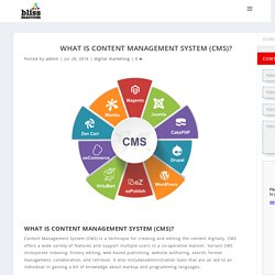 What is Content Management System (CMS)? and why its importent?