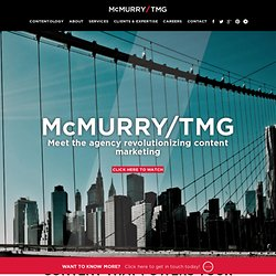 Content Marketing | Branded Content Marketing | mcmurry.com