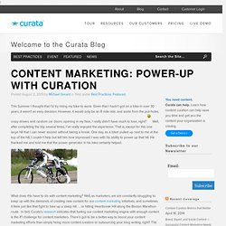 Content Marketing: Power-Up with Curation