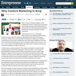 Why Content Marketing Is King | Blog | Daily Dose