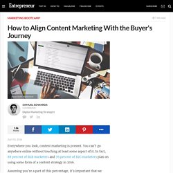 How to Align Content Marketing With the Buyer's Journey