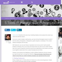 5 Tools to Manage a Content Marketing Team - Marketo