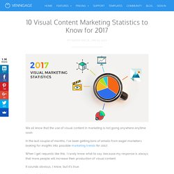 10 Visual Content Marketing Statistics for 2017