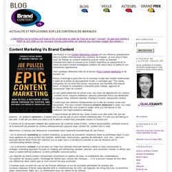 Content Marketing Vs Brand Content