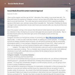 Social Media Brand Ed content material Approval