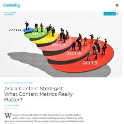 Ask a Content Guy: What Content Metrics Really Matter?