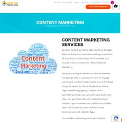 Content Writing Services In Kolkata-Hindusthan Online