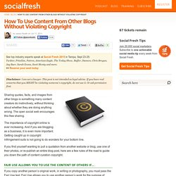 How To Use Content From Other Blogs Without Violating Copyright