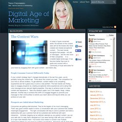 The Content Wars - Digital Age of Marketing