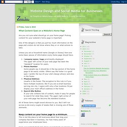 Website Design and Social Media for Businesses