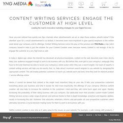 Content Writing Company in Delhi, India - YNG Media