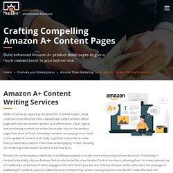 Amazon A+ Content Writing Services