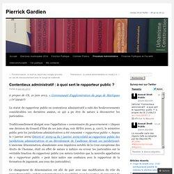 Contentieux administratif : à quoi sert le rapporteur public ?