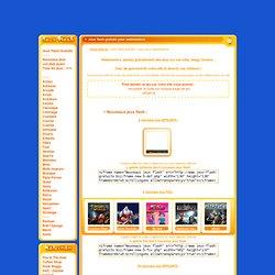 Contenu gratuit pour webmasters : jeux flash