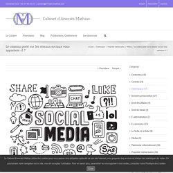 Le contenu posté sur les réseaux sociaux vous appartient-il ?