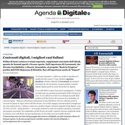 Contenuti digitali, i migliori casi italiani