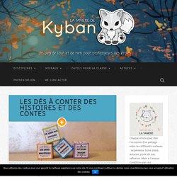 Les dés à conter des histoires et des contes - La tanière de Kyban