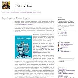 Contes des arpenteurs de Lune après la guerre : Cédric Villani