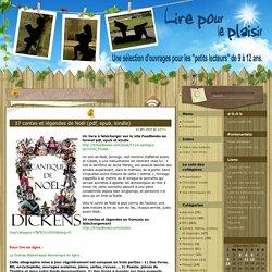37 contes et légendes de Noël (pdf, epub, kindle)