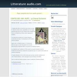 CONTES DES 1001 NUITS – Le Cheval enchanté