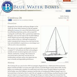 Contessa 26 Review : Bluewaterboats.org