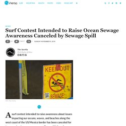 Surf Contest Cancelled by Sewage Spill