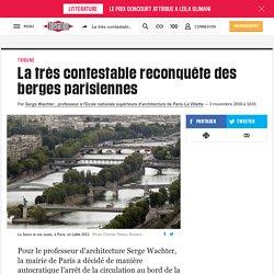 La très contestable reconquête des berges parisiennes