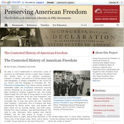 The Contested History of American Freedom