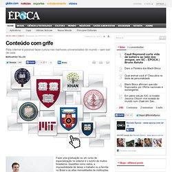 UNIVERSIDADES BEST IN CLASS - Conteúdo com grife - ÉPOCA
