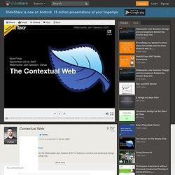 Contextual Web