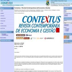 Contextus - Revista Contemporânea de Economia e Gestão
