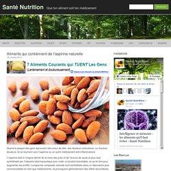 Aliments qui contiennent de l'aspirine naturelle