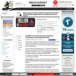 Le DSM-5 ne contient pas le Syndrome d'Aliénation Parentale (SAP/AP)