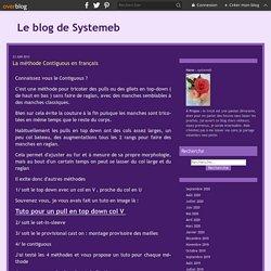 La méthode Contiguous en français - Le blog de Systemeb