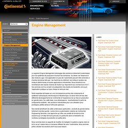Continental Engineering Services - Engine Management