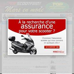 Continental : des pneus scooter à flancs blancs
