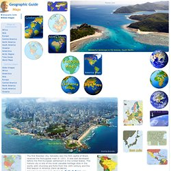 Maps of Continents - Geographic Guide Travel