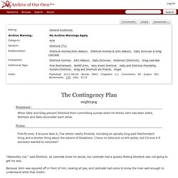 The Contingency Plan - mightypog - Sherlock