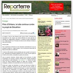 Près d'Orléans, la lutte continue contre le projet de Décathlon