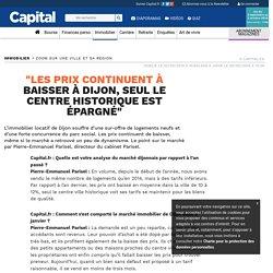 """""""Les prix continuent à baisser à Dijon, seul le centre historique est épargné"""""""