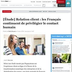 [Étude] Relation client : les Français continuent de privilégier le contact humain