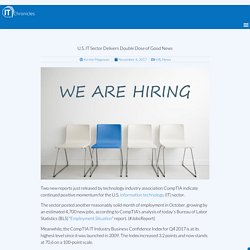 IT Sector Continues as Primary Jobs Engine in Tech Industry - IT Chronicles