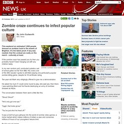 Zombie craze continues to infect popular culture