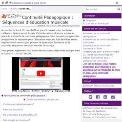 Ac Poitiers -Séquences d'éducation musicale & chant choral