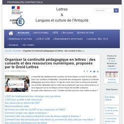 Académie de Créteil : conseils et sélection de ressources pour la continuité pédagogique