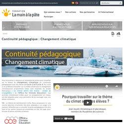 Continuité pédagogique : Changement climatique