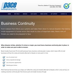Business Continuity services Mississauga