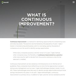 What is Continuous Improvement? - LeanKit