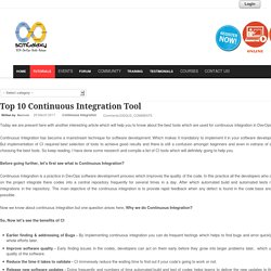 Top 10 Continuous Integration Tool
